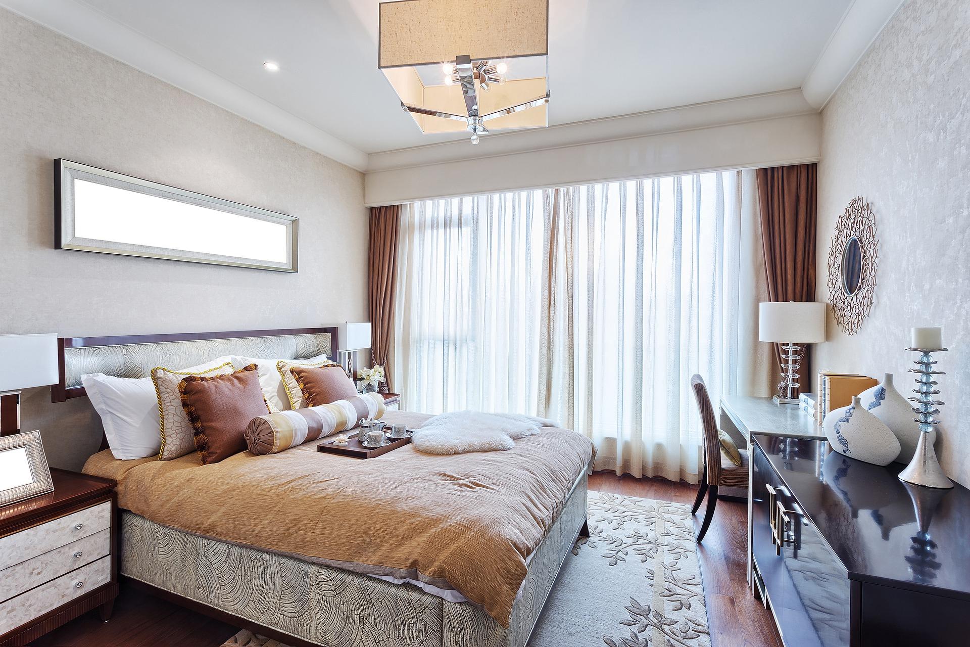 bydleni byt loznice pokoj