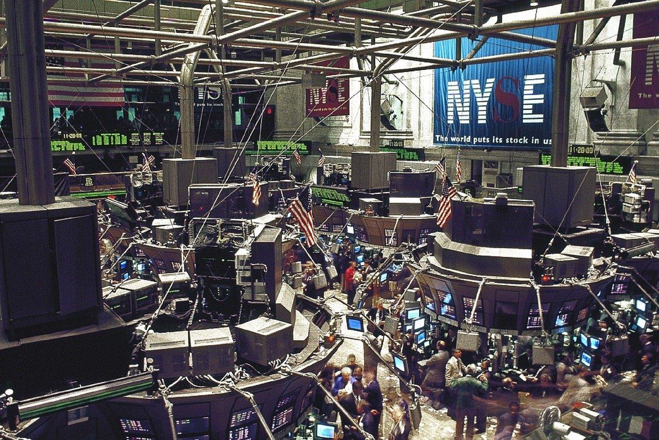 stock burza akcie