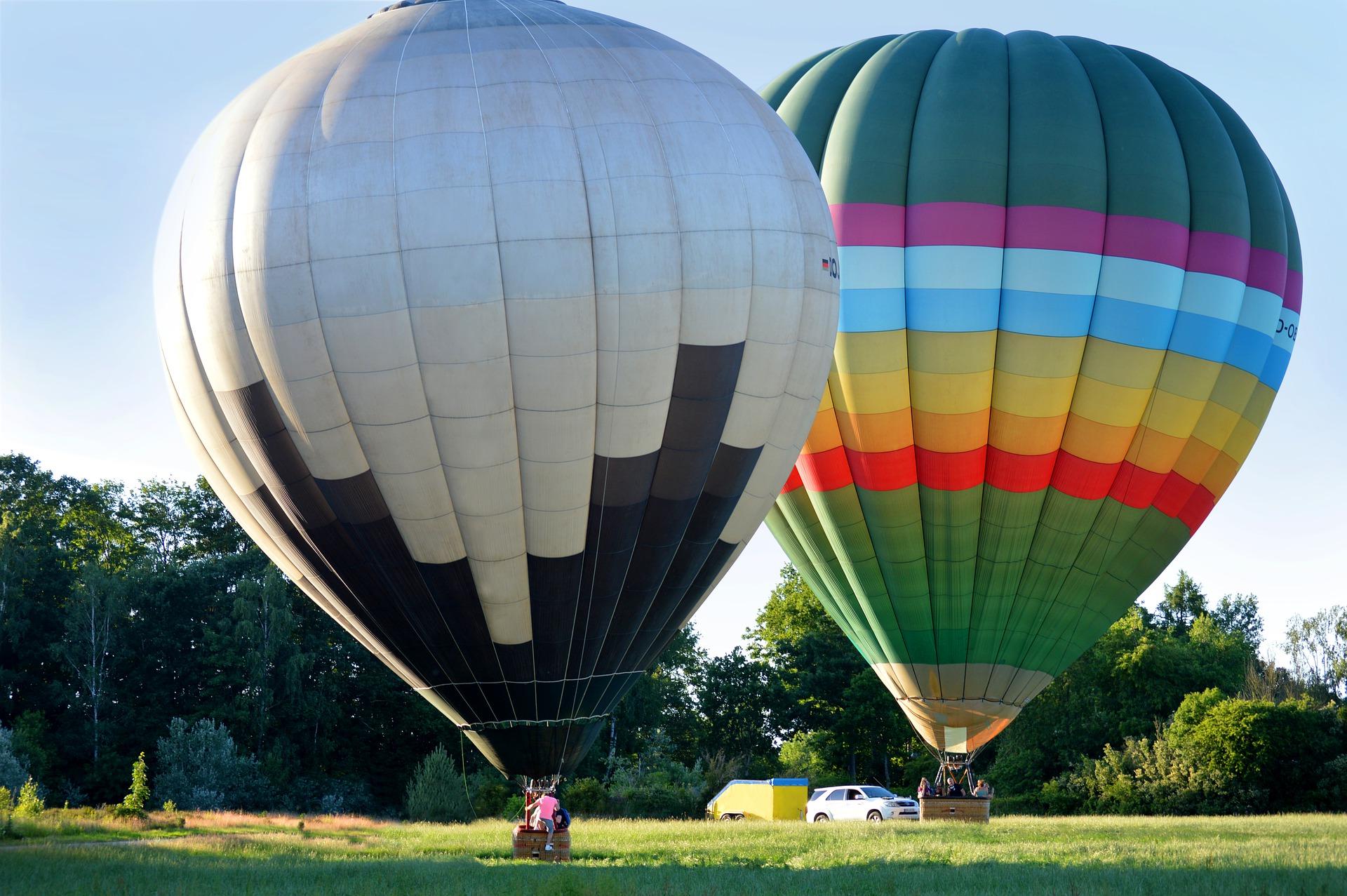 vylet cesta cestovani balon