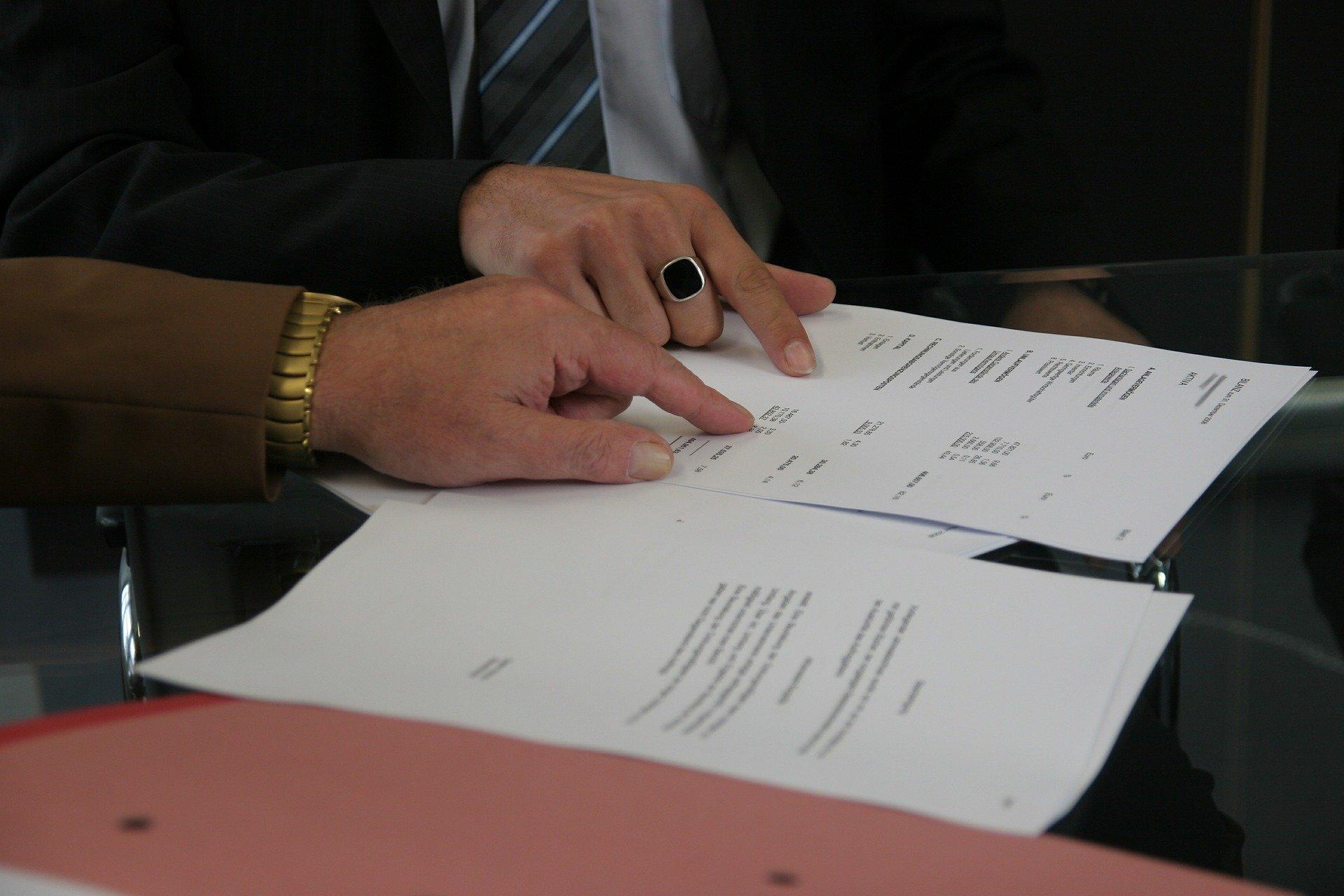 dohoda, smlouva, ruce