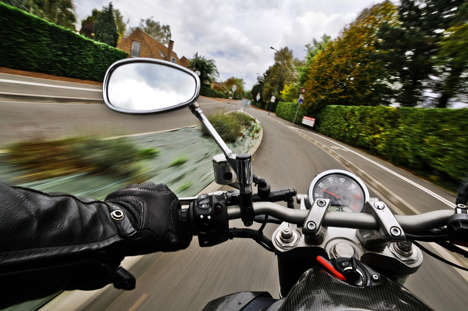 motocykl, motorka