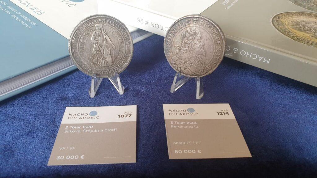 Do aukce jdou mince v hodnotě 70 milionů. Největším lákadlem budou skvosty z prvorepublikové sbírky Josefa Nováka