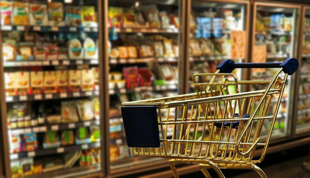 Košík, nákup