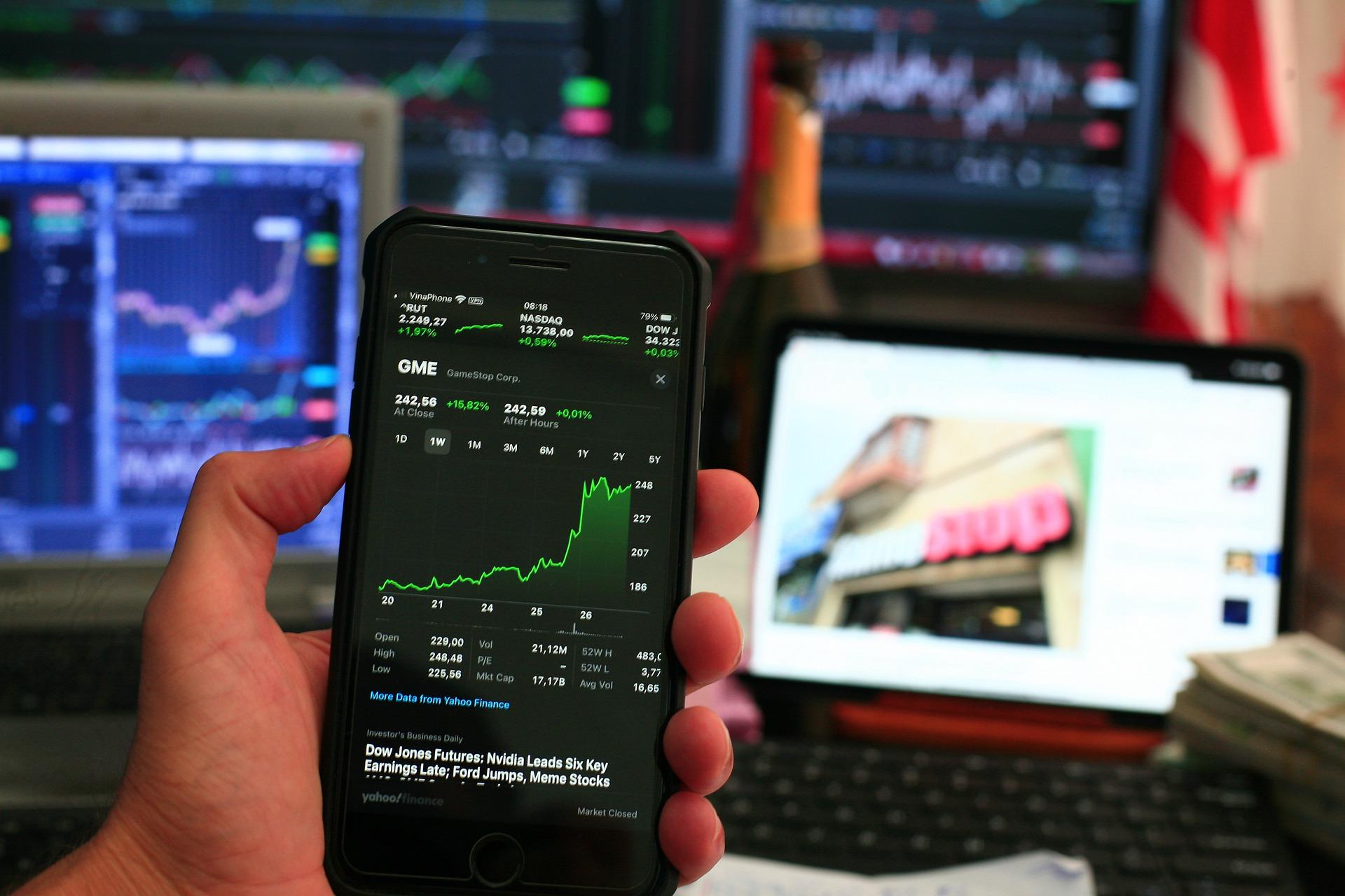 burza, finanční sektor
